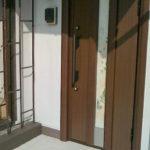 ワークショップ~玄関に挟み込む和紙
