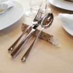 手すき紙のカトラリーレスト Handmade paper cutlery rest