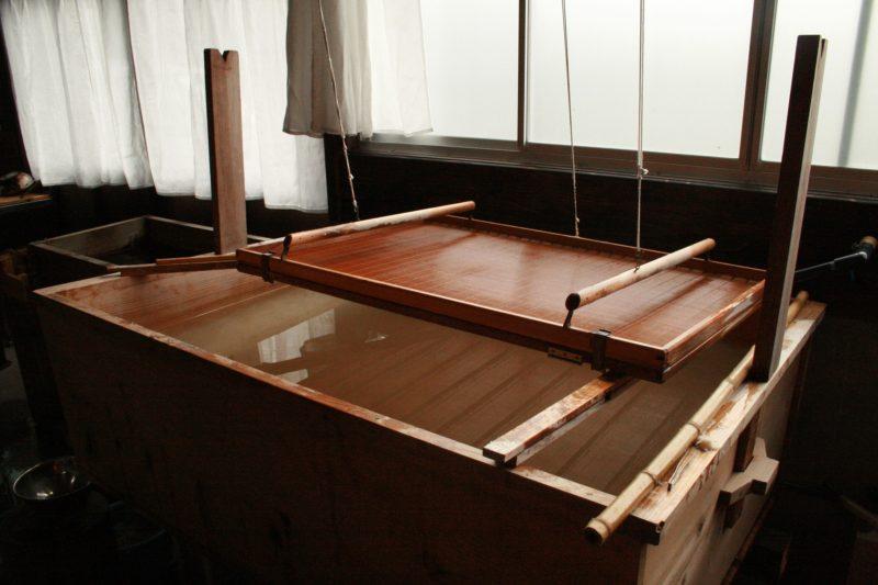 簀桁と舟 Sheet forming tools