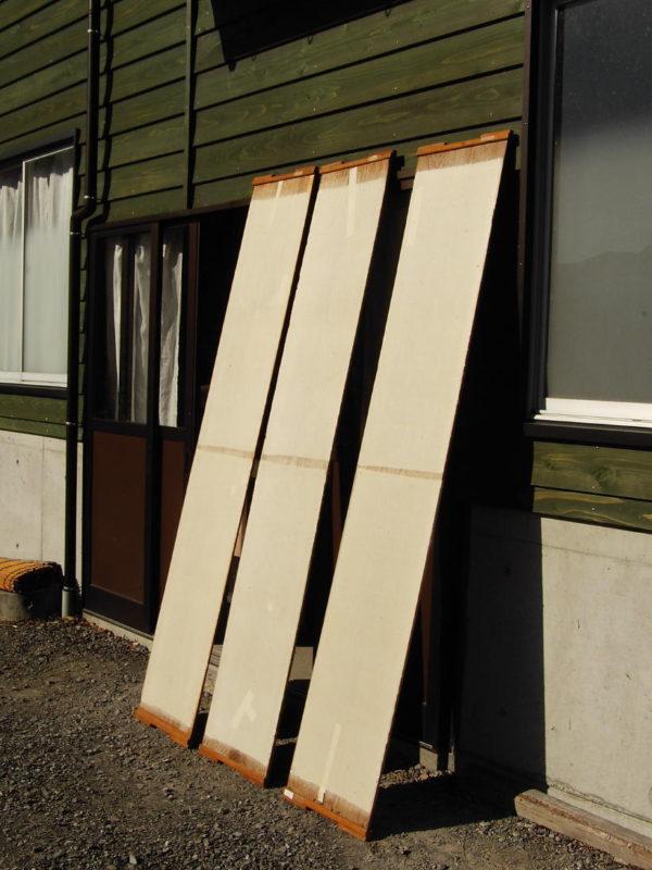 板干し board dry